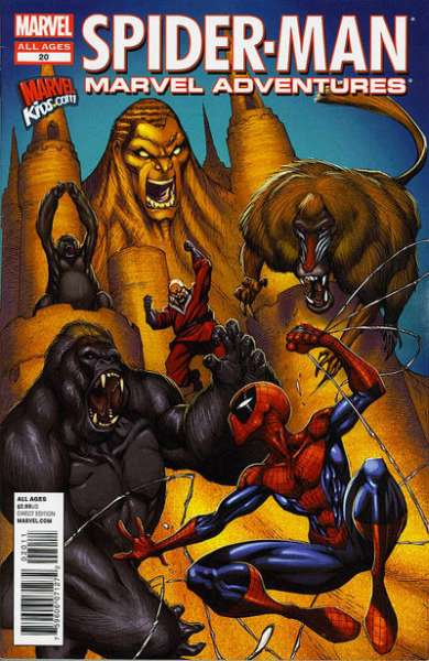 Marvel Adventures Spider-Man #20 comic books - cover scans photos Marvel Adventures Spider-Man #20 comic books - covers, picture gallery