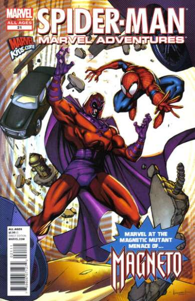 Marvel Adventures Spider-Man #21 comic books - cover scans photos Marvel Adventures Spider-Man #21 comic books - covers, picture gallery