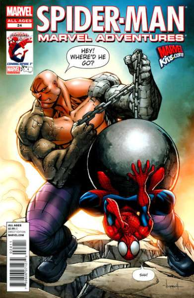 Marvel Adventures Spider-Man #24 comic books - cover scans photos Marvel Adventures Spider-Man #24 comic books - covers, picture gallery