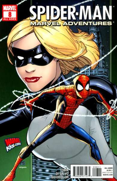 Marvel Adventures Spider-Man #8 Comic Books - Covers, Scans, Photos  in Marvel Adventures Spider-Man Comic Books - Covers, Scans, Gallery