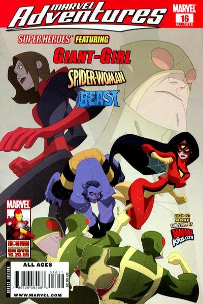 Marvel Adventures Super Heroes #16 Comic Books - Covers, Scans, Photos  in Marvel Adventures Super Heroes Comic Books - Covers, Scans, Gallery