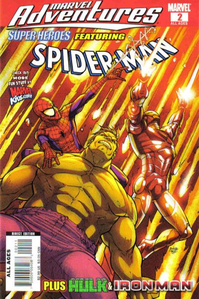 Marvel Adventures Super Heroes #2 Comic Books - Covers, Scans, Photos  in Marvel Adventures Super Heroes Comic Books - Covers, Scans, Gallery