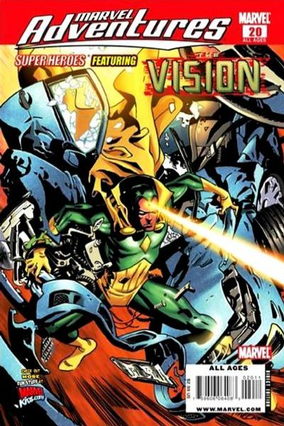 Marvel Adventures Super Heroes #20 Comic Books - Covers, Scans, Photos  in Marvel Adventures Super Heroes Comic Books - Covers, Scans, Gallery
