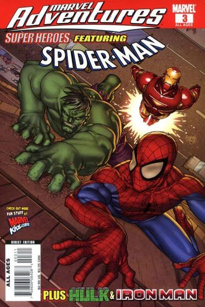Marvel Adventures Super Heroes #3 Comic Books - Covers, Scans, Photos  in Marvel Adventures Super Heroes Comic Books - Covers, Scans, Gallery