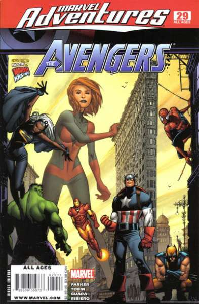 Marvel Adventures The Avengers #29 Comic Books - Covers, Scans, Photos  in Marvel Adventures The Avengers Comic Books - Covers, Scans, Gallery