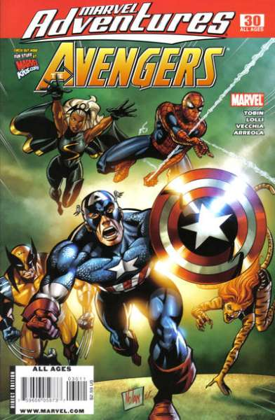 Marvel Adventures The Avengers #30 Comic Books - Covers, Scans, Photos  in Marvel Adventures The Avengers Comic Books - Covers, Scans, Gallery