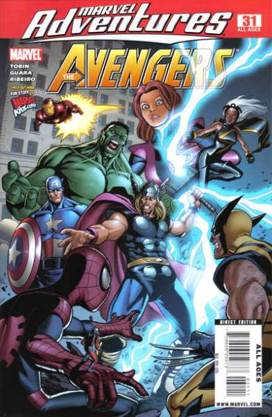 Marvel Adventures The Avengers #31 Comic Books - Covers, Scans, Photos  in Marvel Adventures The Avengers Comic Books - Covers, Scans, Gallery