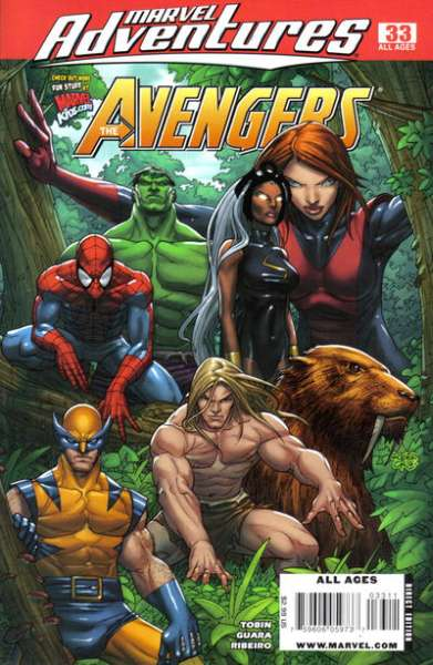 Marvel Adventures The Avengers #33 Comic Books - Covers, Scans, Photos  in Marvel Adventures The Avengers Comic Books - Covers, Scans, Gallery