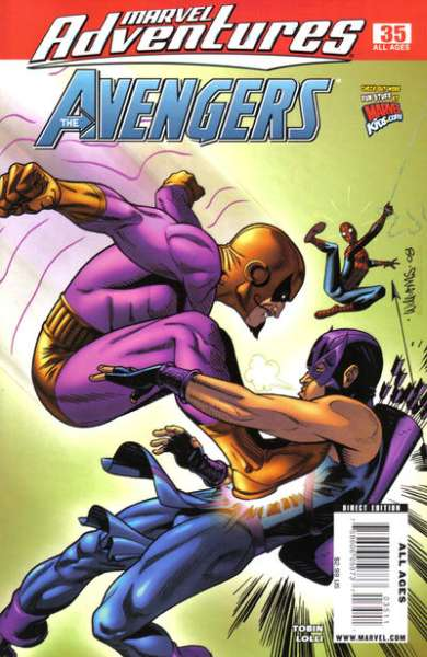 Marvel Adventures The Avengers #35 Comic Books - Covers, Scans, Photos  in Marvel Adventures The Avengers Comic Books - Covers, Scans, Gallery