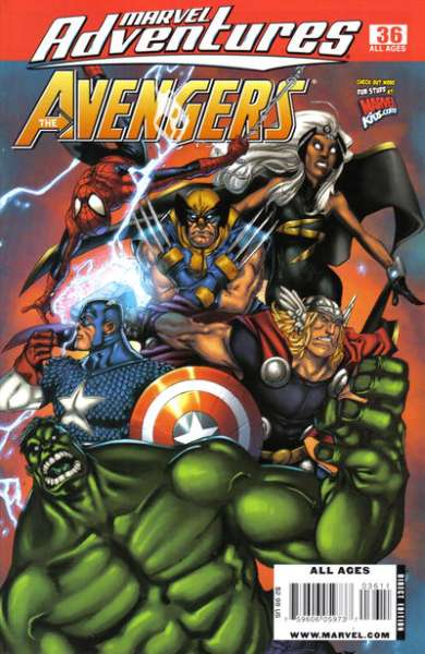 Marvel Adventures The Avengers #36 Comic Books - Covers, Scans, Photos  in Marvel Adventures The Avengers Comic Books - Covers, Scans, Gallery