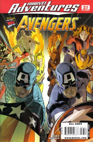 Marvel Adventures The Avengers #37 Comic Books - Covers, Scans, Photos  in Marvel Adventures The Avengers Comic Books - Covers, Scans, Gallery