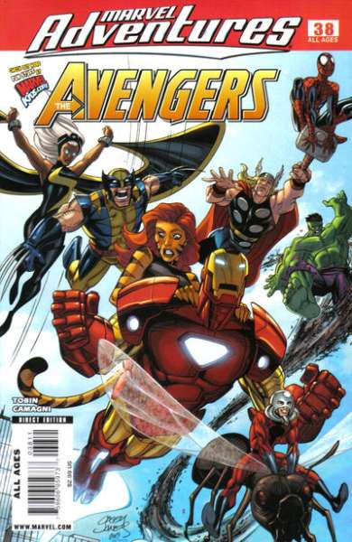 Marvel Adventures The Avengers #38 Comic Books - Covers, Scans, Photos  in Marvel Adventures The Avengers Comic Books - Covers, Scans, Gallery