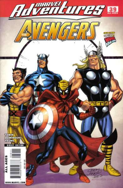 Marvel Adventures The Avengers #39 Comic Books - Covers, Scans, Photos  in Marvel Adventures The Avengers Comic Books - Covers, Scans, Gallery