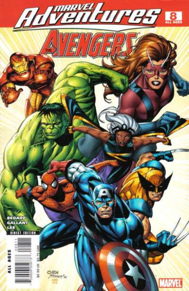 Marvel Adventures The Avengers #8 Comic Books - Covers, Scans, Photos  in Marvel Adventures The Avengers Comic Books - Covers, Scans, Gallery