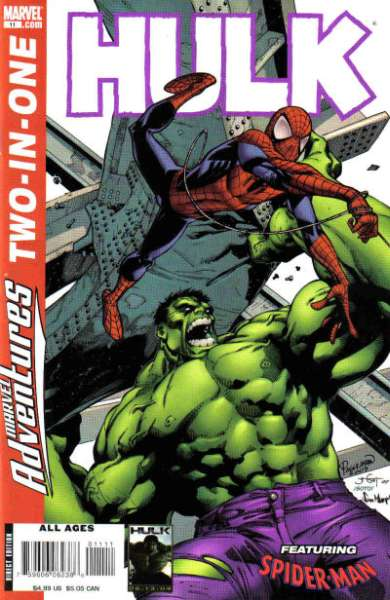 Marvel Adventures Two-in-One #11 comic books - cover scans photos Marvel Adventures Two-in-One #11 comic books - covers, picture gallery