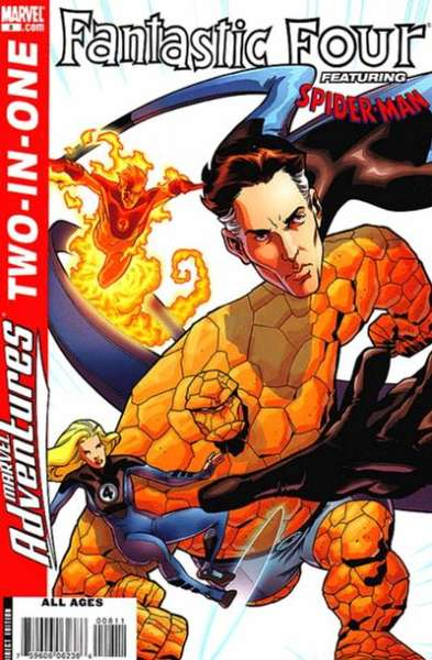 Marvel Adventures Two-in-One #8 comic books - cover scans photos Marvel Adventures Two-in-One #8 comic books - covers, picture gallery