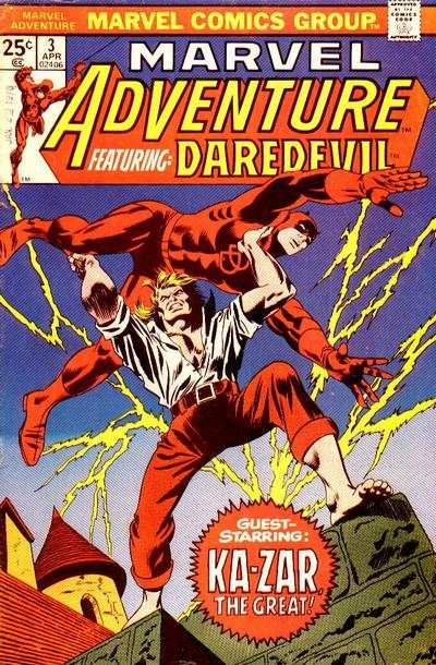 Marvel Adventures starring Daredevil #3 comic books for sale