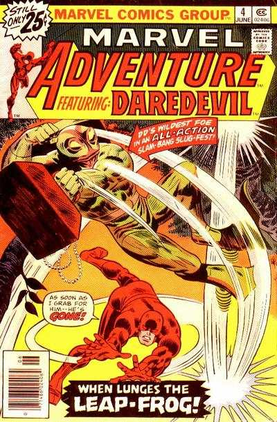 Marvel Adventures starring Daredevil #4 cheap bargain discounted comic books Marvel Adventures starring Daredevil #4 comic books