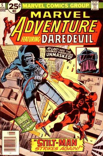 Marvel Adventures starring Daredevil #5 comic books for sale