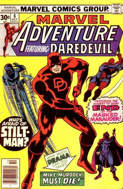 Marvel Adventures starring Daredevil #6 comic books for sale