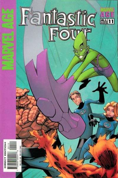 Marvel Age Fantastic Four #11 Comic Books - Covers, Scans, Photos  in Marvel Age Fantastic Four Comic Books - Covers, Scans, Gallery