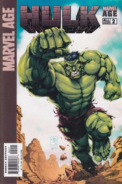 Marvel Age Hulk #2 Comic Books - Covers, Scans, Photos  in Marvel Age Hulk Comic Books - Covers, Scans, Gallery