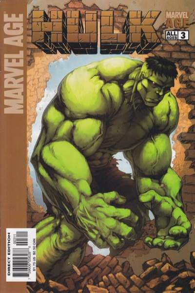 Marvel Age Hulk #3 comic books for sale