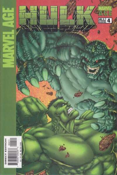 Marvel Age Hulk #4 comic books for sale