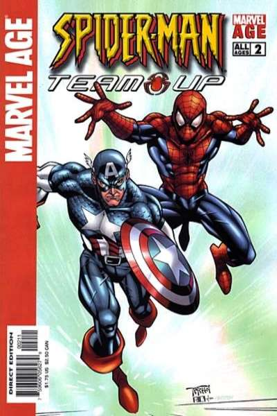 Marvel Age Spider-Man Team-Up #2 comic books - cover scans photos Marvel Age Spider-Man Team-Up #2 comic books - covers, picture gallery