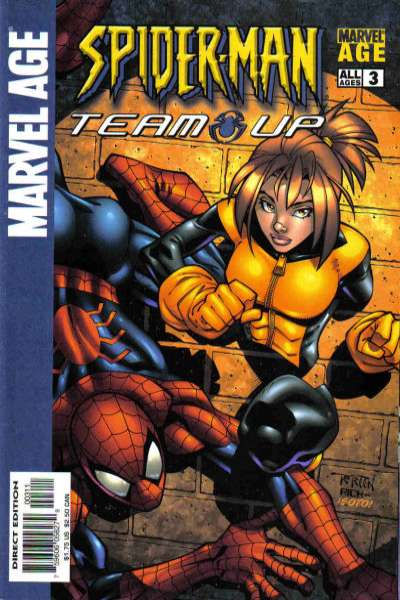 Marvel Age Spider-Man Team-Up #3 comic books - cover scans photos Marvel Age Spider-Man Team-Up #3 comic books - covers, picture gallery