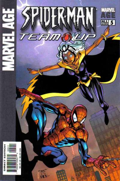 Marvel Age Spider-Man Team-Up #5 comic books - cover scans photos Marvel Age Spider-Man Team-Up #5 comic books - covers, picture gallery