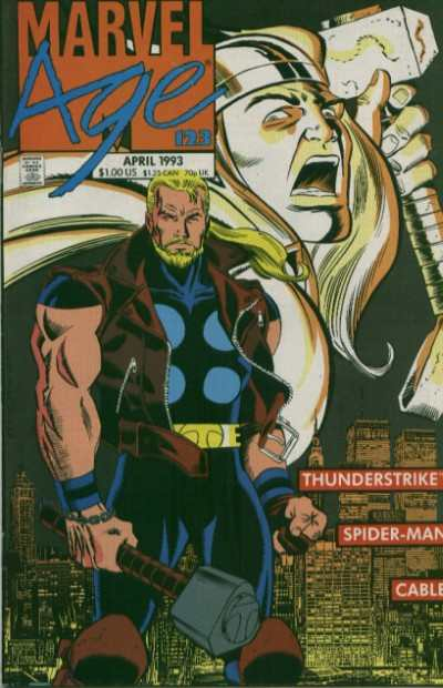 Marvel Age #123 comic books - cover scans photos Marvel Age #123 comic books - covers, picture gallery