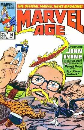 Marvel Age #14 comic books - cover scans photos Marvel Age #14 comic books - covers, picture gallery