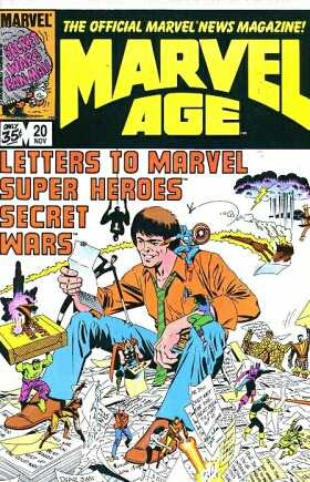 Marvel Age #20 comic books - cover scans photos Marvel Age #20 comic books - covers, picture gallery