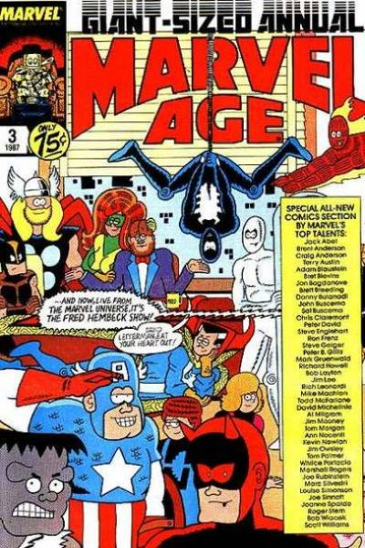 Marvel Age #3 comic books for sale