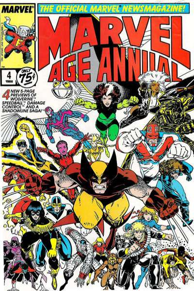 Marvel Age #4 comic books for sale