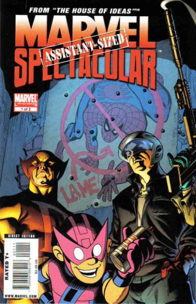 Marvel Assistant-Sized Spectacular #1 comic books - cover scans photos Marvel Assistant-Sized Spectacular #1 comic books - covers, picture gallery