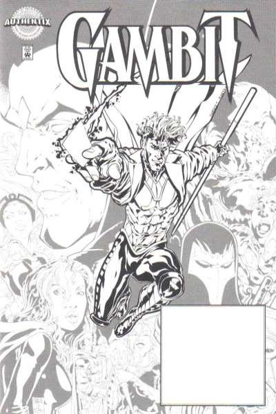 Marvel Authentix: Gambit #1 comic books for sale