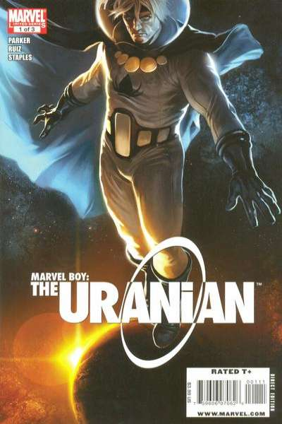 Marvel Boy: The Uranian #1 comic books - cover scans photos Marvel Boy: The Uranian #1 comic books - covers, picture gallery