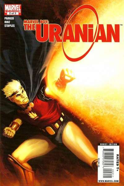Marvel Boy: The Uranian #2 Comic Books - Covers, Scans, Photos  in Marvel Boy: The Uranian Comic Books - Covers, Scans, Gallery