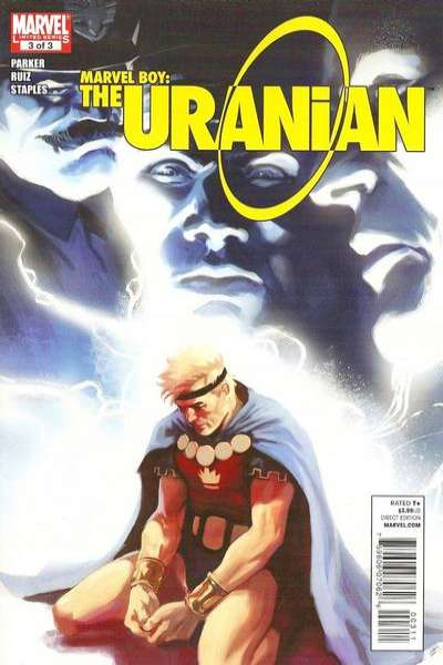 Marvel Boy: The Uranian #3 comic books - cover scans photos Marvel Boy: The Uranian #3 comic books - covers, picture gallery