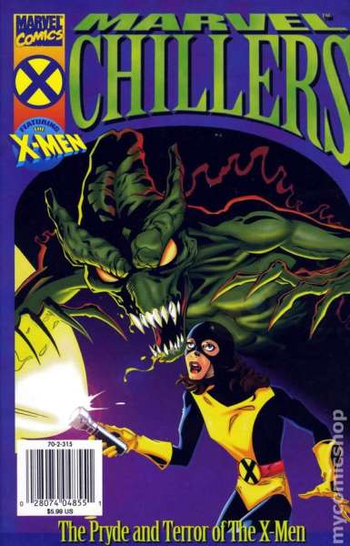Marvel Chillers: The Pride and Terror of the X-Men #1 comic books - cover scans photos Marvel Chillers: The Pride and Terror of the X-Men #1 comic books - covers, picture gallery