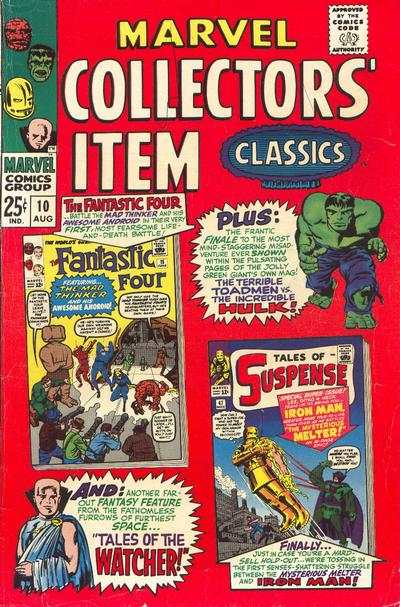Marvel Collectors' Item Classics #10 comic books - cover scans photos Marvel Collectors' Item Classics #10 comic books - covers, picture gallery