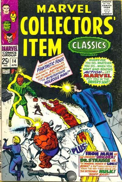 Marvel Collectors' Item Classics #14 comic books - cover scans photos Marvel Collectors' Item Classics #14 comic books - covers, picture gallery