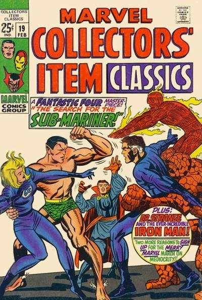 Marvel Collectors' Item Classics #19 comic books - cover scans photos Marvel Collectors' Item Classics #19 comic books - covers, picture gallery
