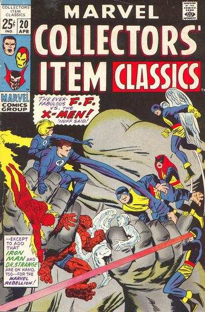 Marvel Collectors' Item Classics #20 comic books - cover scans photos Marvel Collectors' Item Classics #20 comic books - covers, picture gallery