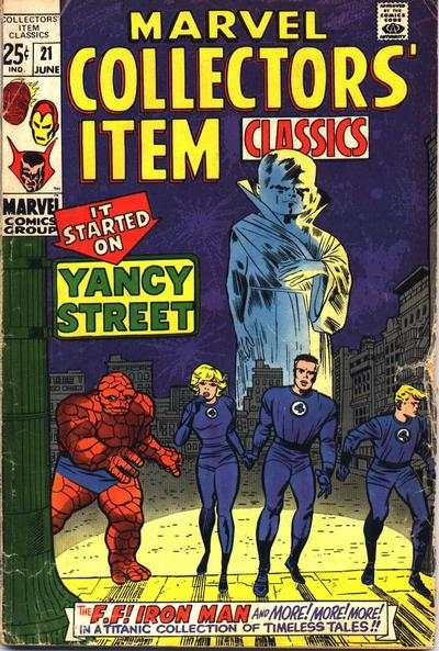 Marvel Collectors' Item Classics #21 Comic Books - Covers, Scans, Photos  in Marvel Collectors' Item Classics Comic Books - Covers, Scans, Gallery