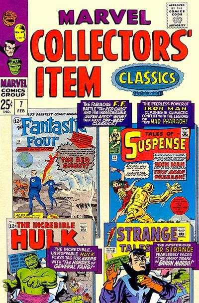 Marvel Collectors' Item Classics #7 Comic Books - Covers, Scans, Photos  in Marvel Collectors' Item Classics Comic Books - Covers, Scans, Gallery