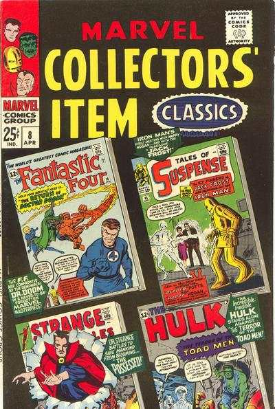 Marvel Collectors' Item Classics #8 comic books for sale