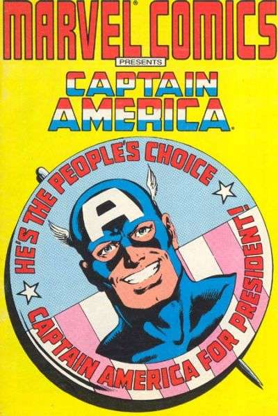 Marvel Comics Presents Captain America comic books